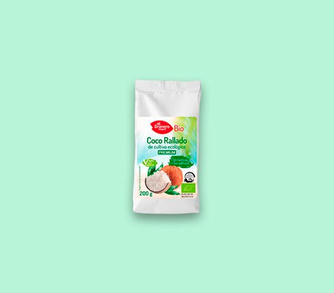 GRANERO Coco RALLADO Fino Bio 200 gr No aplicable