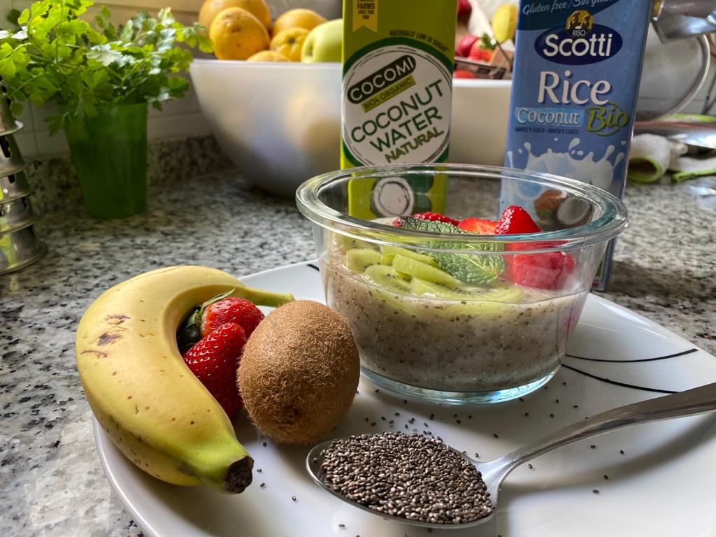 Desayuno que te ayudará a adelgazar y muy nutritivo.