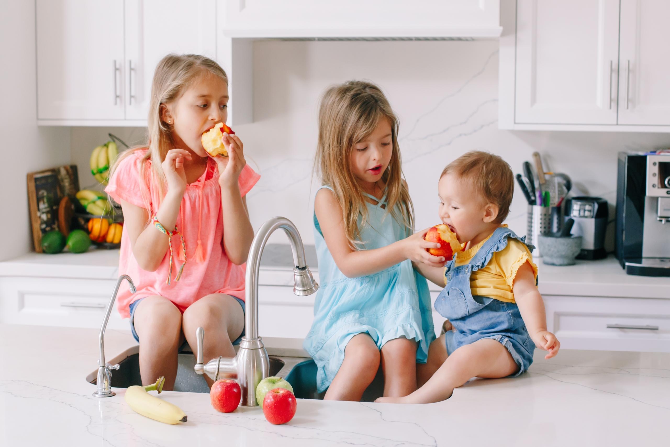 10 principios básicos para una dieta infantil saludable